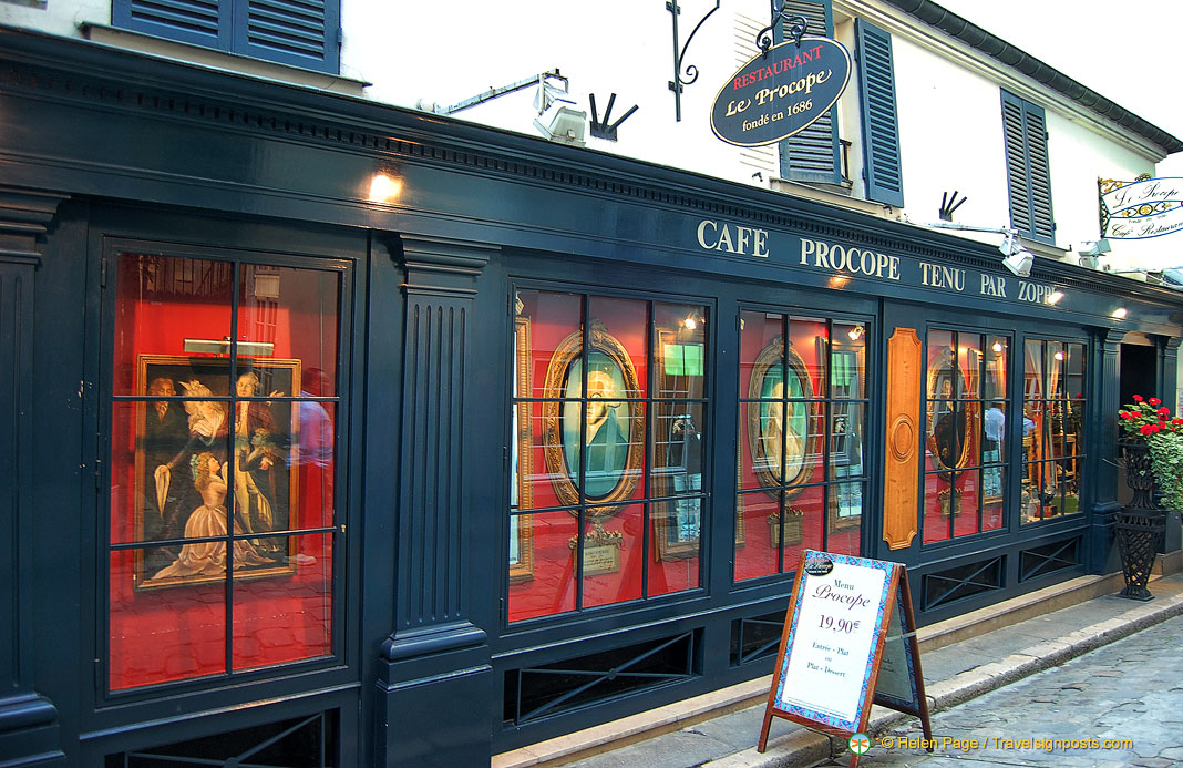 Le Procope - A Place of Rendezvous Through History