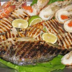 Grilled Seafood is a speciality of Portugal