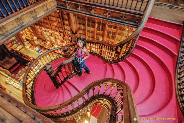 Lello Bookshop Staircase - Porto