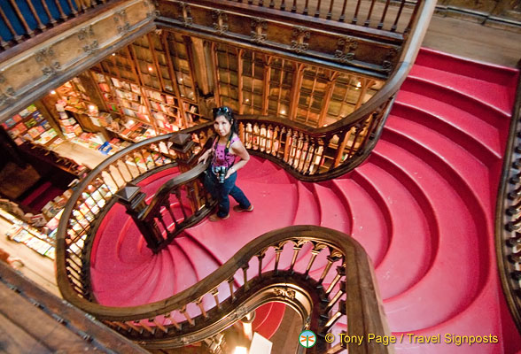 Lello Bookshop Stairways - Porto