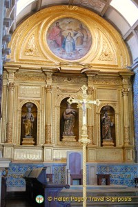 Chancel of Faro Sé, Faro