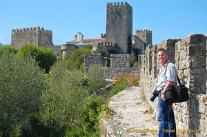 Walking the Castle Wall, Obidos