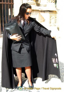 Coimbra University Black Cape