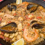Paella, a specialty from Valencia