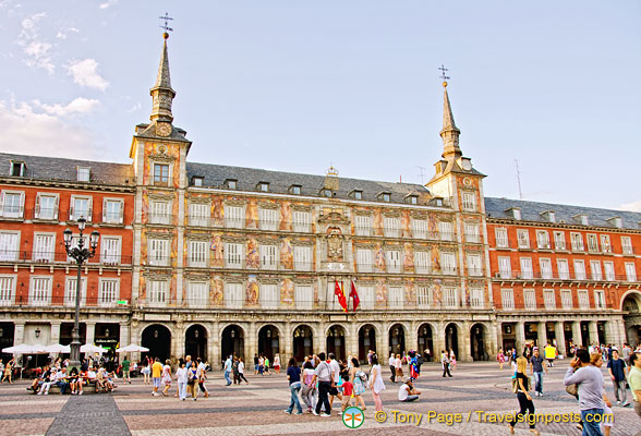 Plaza mayor madrid plaza madrid attraction - Casa de la panaderia madrid ...