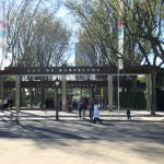 Barcelona Zoo Entrance..
