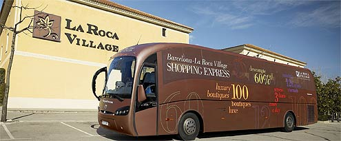 How to get to la roca village barcelona shopping spain for Las rocas outlet barcelona