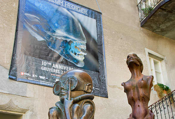 The Giger Museum – An Alien Encounter in Gruyères