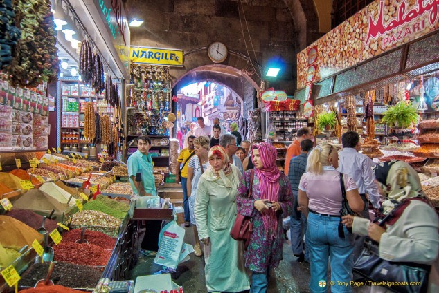 The Egyptian Market or Spice Market , Misir Çarsisi, Istanbul