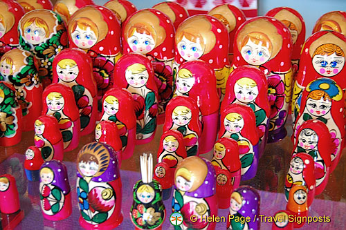 Ukrainian Wooden Dolls