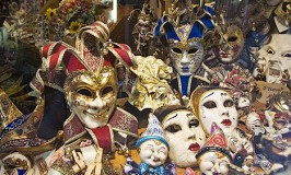 Carnevale Masks shop, San Polo, Venice, Italy