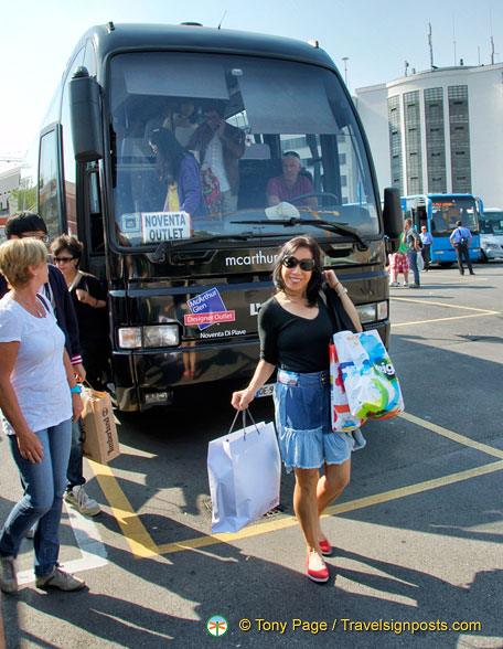 Veneto Designer Outlet Shuttle