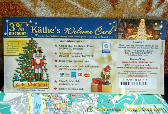 Our 3 discount voucher for K the Wohlfahrt the famous Christmas shop – Shop Discount Vouchers