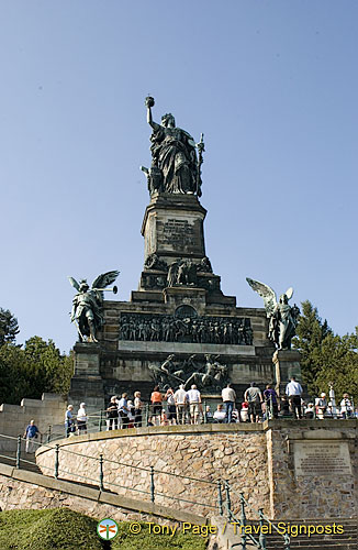 Statue Of Germania Built To Commemorate Victory In The