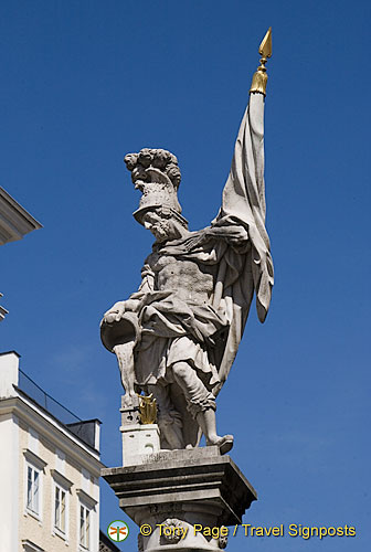 St Florian, Patron saint of firefighters[Salzburg - Austria]
