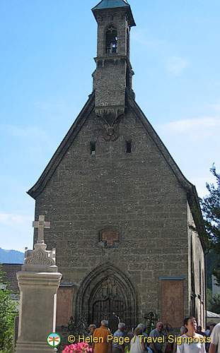 St. Margaret's Chapel - a Gothic building in St Peter's Cemetery