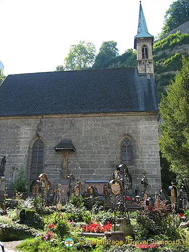 It's little wonder that St. Peter's cemetery was one of the locations for the filming of the Sound of Music
