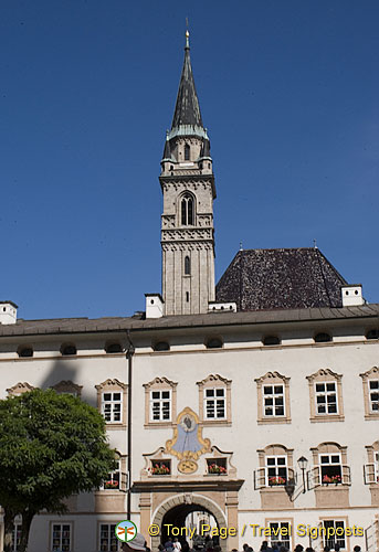 Residenz -  Former official apartments of the Salzburg prince archbishops.  [Salzburg - Austria]i