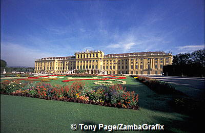 Schonbrunn Palace: It proved to be too expensive and the final work was far more modest