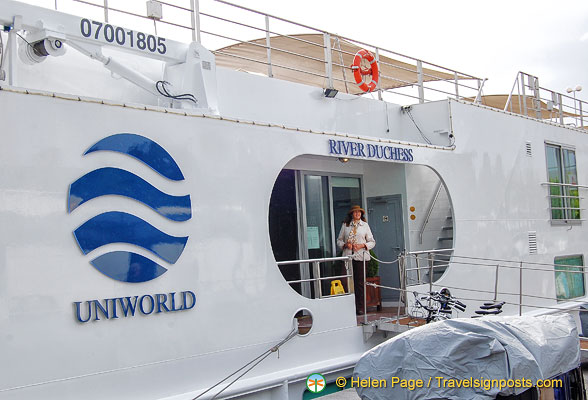 River Duchess a Uniworld river boat