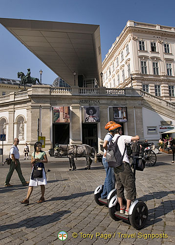 Segway sightseeing tour of Vienna