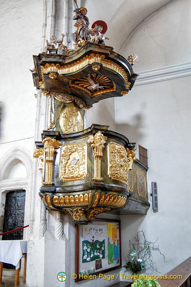 Pulpit of Weissenkirchen