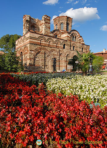 Christ Pantocrator Church is one of the best-preserved medieval churches in Bulgaria (H)
