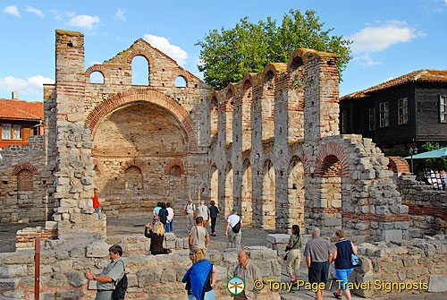 Church of St. Sophia or the Old Bishopric is an Eastern Orthodox Church from the 5th - 6th centuries