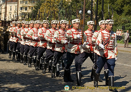 St Sofia Day military parade