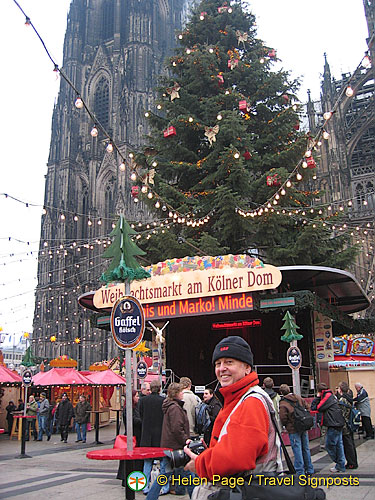 Yes, it's the Weihnachtsmarkt am Kolner Dom