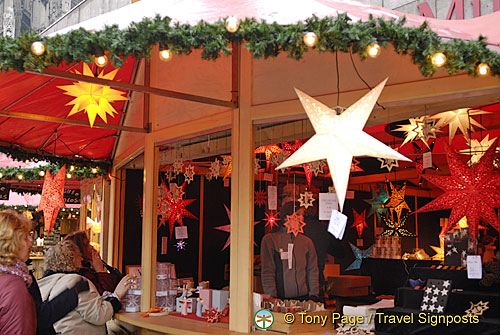 Another lamp stall at the Cologne Christmas Market