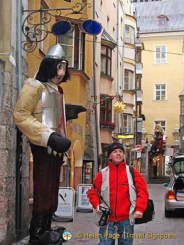 Innsbruck's Giants Alley