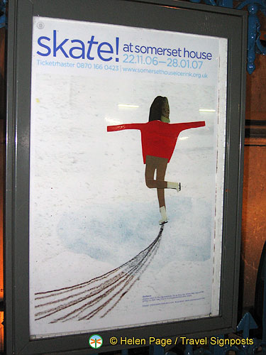 Ice-skating is a popular Christmas activity