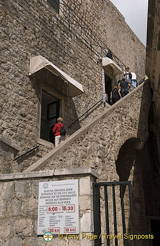 Entrance to the City Wall (Ulaz na gradske zidne)