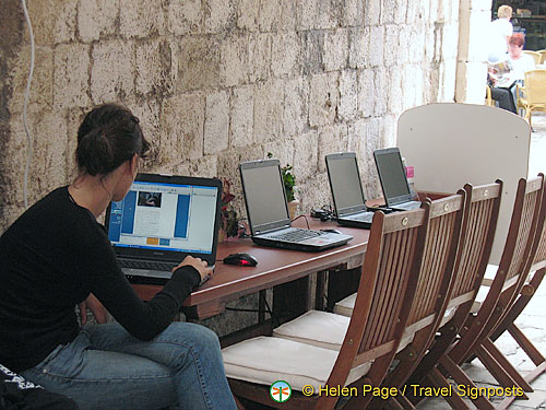 Internet access in Dubrovnik