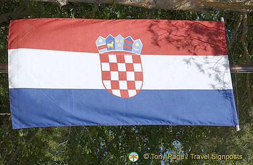 Zadar - Croatian National Flag