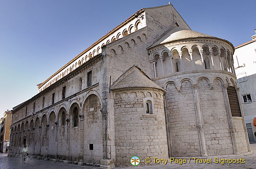 Zadar - Croatia - Church of St. Chrysogonus