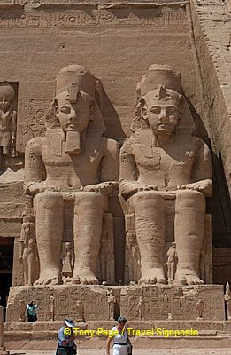 [Great Temple of Abu Simbel - Egypt]