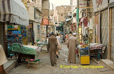 Sharia as-Souq - Aswan - Egypt