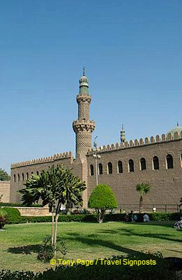 The Citadel and Mohammed Ali Mosque - Cairo