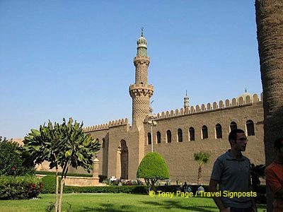 The fortified complex serves as a museum of Islamic architecture