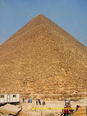 [The Giza Plateau - The Great Pyramids]