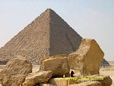[The Giza Plateau - The Great Pyramids - Egypt]