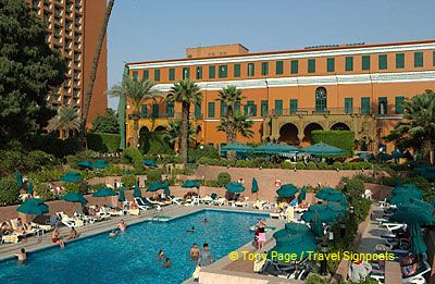 Our visit to Cairo began with a stay at the Cairo Marriott.