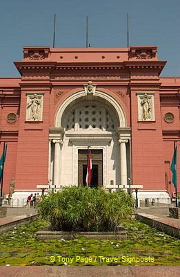 The museum has two floors, with the rooms numbered in an uncomprehensible manner.