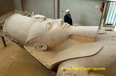 It was believed that King Menes founded Memphis around 3100BC.