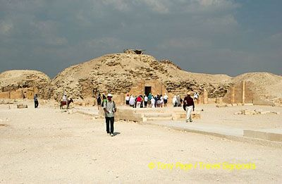 It was the first pyramid in Egyptian history
