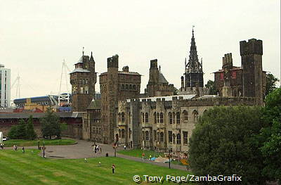 Built during the period 1869-1873, the Clock Tower rises to a height of 40m and consists of seven stories