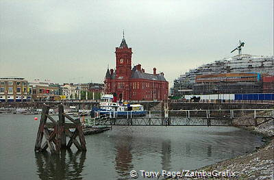 The Pier Head Building overlooking Cardiff Bay