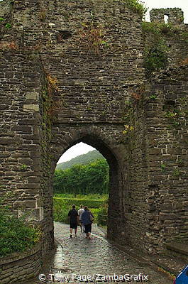 Conwy is a medieval walled town